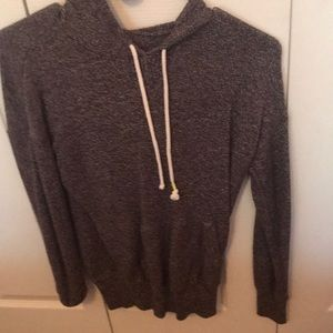 Gray overhead sweatshirt